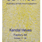 Details: Painting after Photography  Factory 49  Sydney