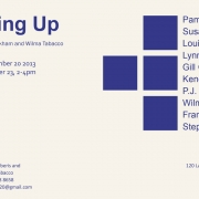 Squaring Up  Group show  curated by Stephen Wickham and Wilma Tabacco  Langford 120 Melbourne