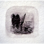 untitled ink drawing 1992